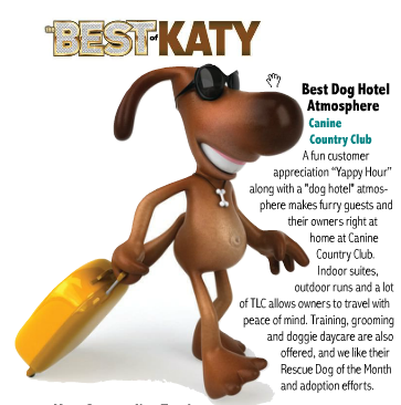 Best of Katy, Canine Country Club - Katy Lifestyles & Homes Magazine, Feb 2013